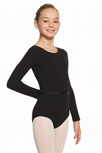 MONDOR Long Sleeve Bodysuit (Childrens) Black
